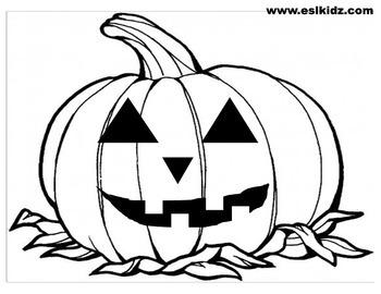 Pumpkin Faces Halloween Cards