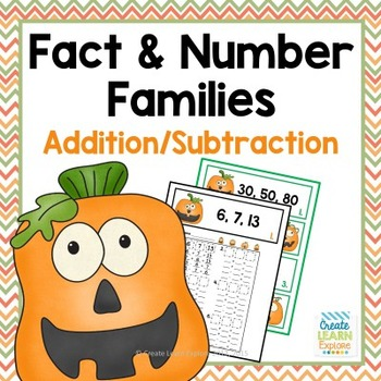 Fact Families and Number Families Addition and Subtraction
