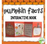 Pumpkin Facts Interactive Mini Book