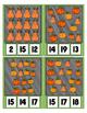 Pumpkin ~ Fall Autumn Halloween Thanksgiving ~ 0 to 20 Clip Cards - Clothes Pin