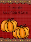 Pumpkin (Fall) Math Addition Game