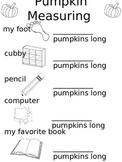 Pumpkin Fall Measuring