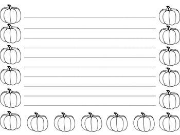 Pumpkin - Fall - Paper