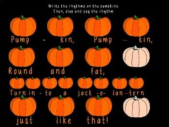 Pumpkin Fat: Steady Beat, Ta, Ti-ti, Ta Rest