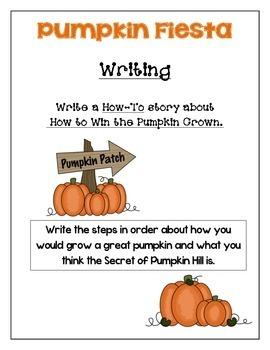 Pumpkin Fiesta - Common Core story study