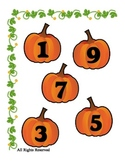 Pumpkin File Folder Halloween Printable for Preschool - Ea