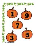 Pumpkin File Folder Halloween Printable for Preschool - Ea