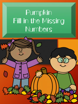 Pumpkin Fill in the Missing Number