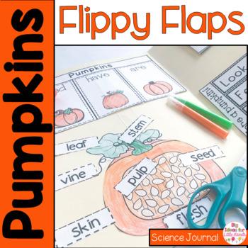 Pumpkin Flippy Flaps Interactive Notebook Lapbook