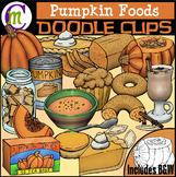 Pumpkin Foods Clipart