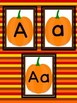 Pumpkin Full Page Alphabet Letter Posters Word Wall Headers