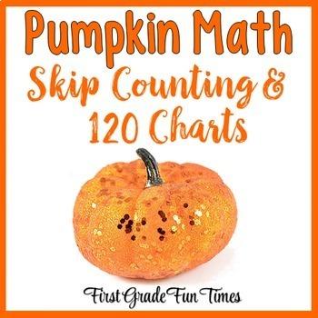 Fall Halloween Math Pumpkins Skip Counting and 120 Charts