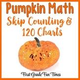 Pumpkins Skip Counting and 120 Charts