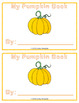 Pumpkin Fun Book!  Great for Pumpkins or Halloween!