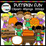 Pumpkin Fun Clipart