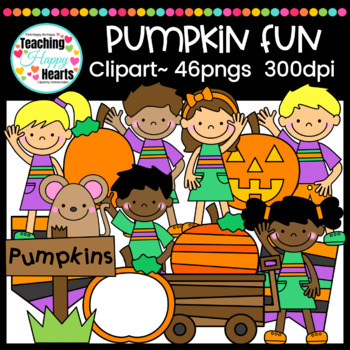 Pumpkin Fun Clipart