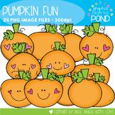 Pumpkin Fun Clipart Set