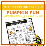 Pumpkin Fun: Trifecta Articulation and Language