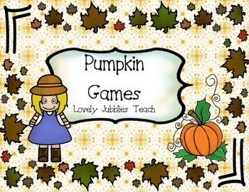 Pumpkin Games (Fall Themed ELA and Math Games)
