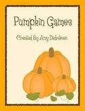 Pumpkin Games: Literacy and Math Games for Fall
