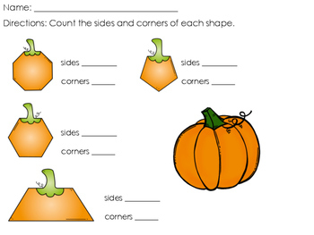 Pumpkin Geometry