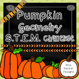 Pumpkin Geometry STEM Challenge