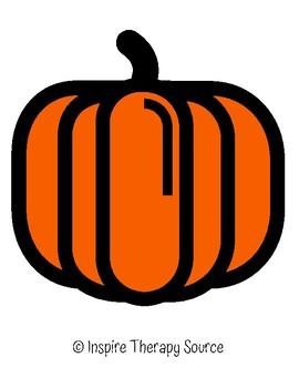 Pumpkin/Ghost Making Faces