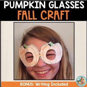 Pumpkin Glasses Craft