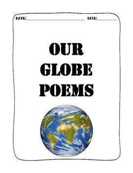 Pumpkin Globes Directions and Poems