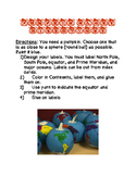 Pumpkin Globes, Lesson Plans, Direction Page, and Rubric