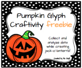 Pumpkin Glyph Craftivity FREEBIE