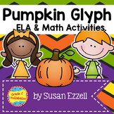 Pumpkin Glyph and 3 Interactive ELA Notebook Activities {CCSS}