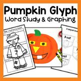 Pumpkin Glyph and 3 Scarecrow Interactive ELA Notebook Activities {CCSS} & SCOOT