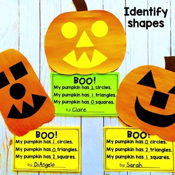 Pumpkin Craft and Glyph Activity