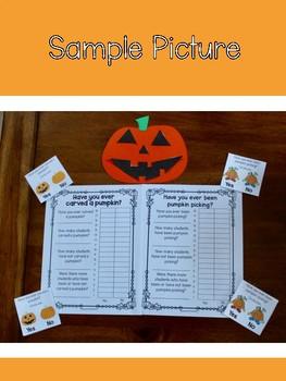 Pumpkin Graphing Craftivities