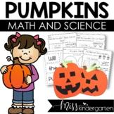 Pumpkin Math, Craft and Science Activities