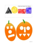 Pumpkin Growth Sequence Cards and Shape Coloring Page | Pr