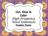 Pumpkin HFW Sentences