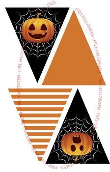 Pumpkin Halloween Banner *FREE*