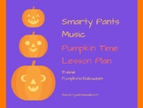 Pumpkin - Halloween Circle Time Lesson Plan
