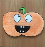 Pumpkin, Halloween, Easy Craft, Printable!