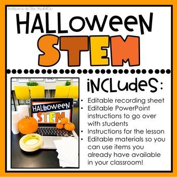 Pumpkin Halloween STEM