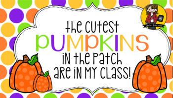 Pumpkin / Halloween Tag