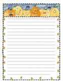 Pumpkin-Halloween Writing Paper