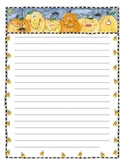 Pumpkin-Halloween Writing Paper