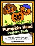 Pumpkin Head Fun Fall Activity Pattern Pack