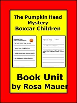 Pumpkin Head Mystery Boxcar Children Book Unit