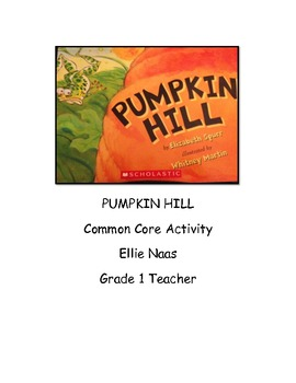 Pumpkin Hill Common Core Listening Center Activity