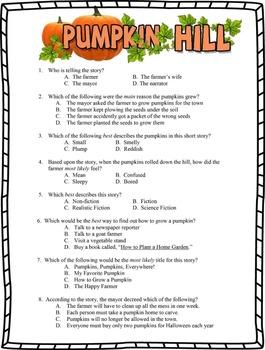 Pumpkin Hill by Elizabeth Spurr - Two Test Set