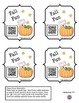 Pumpkin Homework Fun using QR Codes (School to Home Connections)